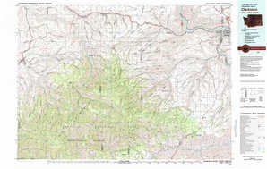 Clarkston topographical map