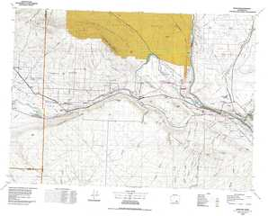 Richland 1:250,000 scale USGS topographic map 46119a1