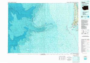 Ilwaco topographical map
