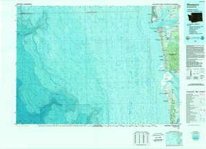Westport topographical map