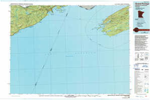 Grand Portage topographical map