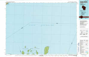 Outer Island topographical map