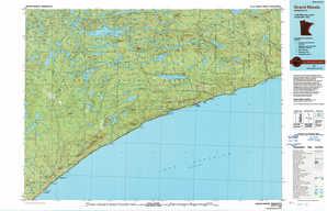 Grand Marais topographical map