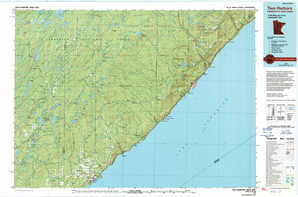Two Harbors topographical map