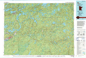 Ely topographical map