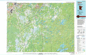 Hibbing topographical map