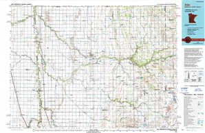 Ada 1:250,000 scale USGS topographic map 47096a1