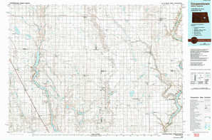 Cooperstown topographical map