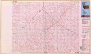 Circle topographical map