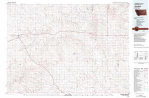 Jordan topographical map