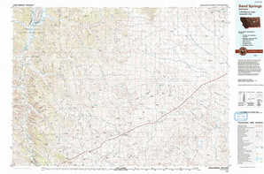 Sand Springs topographical map