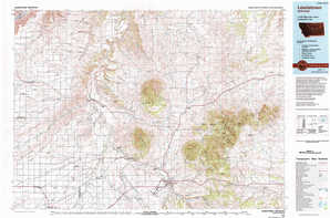 Lewistown topographical map