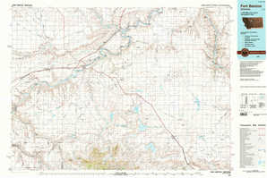 Fort Benton topographical map