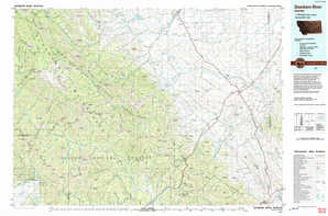 Dearborn River topographical map
