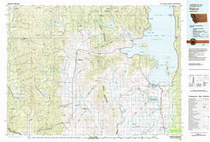 Polson topographical map
