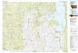 Polson 1:250,000 scale USGS topographic map 47114e1