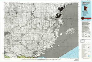 Pigeon Point topographical map