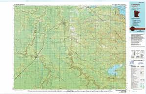 Littlefork topographical map