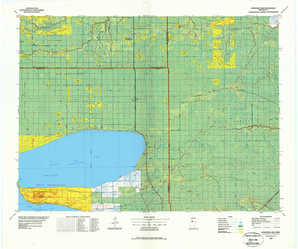 Upper Red Lake topographical map