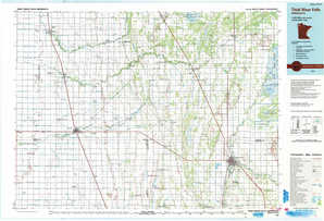 Thief River Falls topographical map