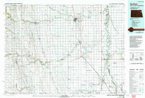 Grafton topographical map