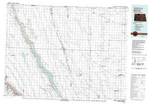Mohall topographical map