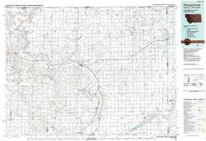 Plentywood topographical map