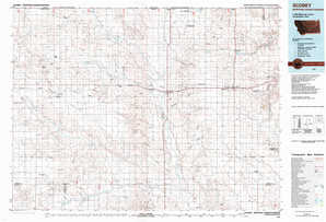 Scobey topographical map