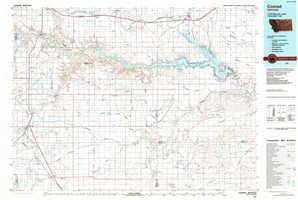 Conrad topographical map