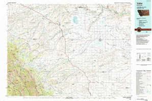 Valier 1:250,000 scale USGS topographic map 48112a1
