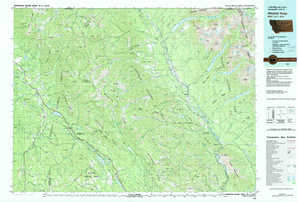 Whitefish Range 1:250,000 scale USGS topographic map 48114e1