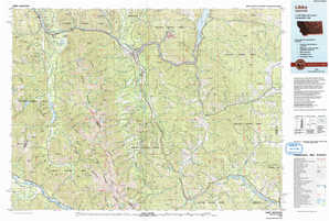 Libby 1:250,000 scale USGS topographic map 48115a1