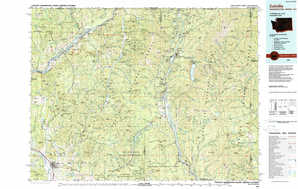 Colville topographical map