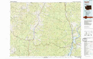 Republic topographical map