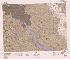 Twisp topographical map