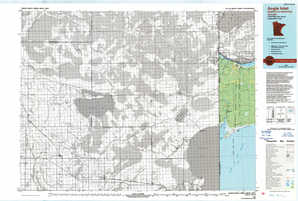Angle Inlet topographical map