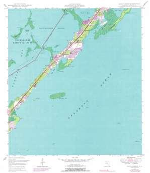 Rock Harbor topo map
