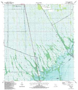 Glades USGS topographic map 25080c4