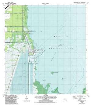 Arsenicker Keys topo map