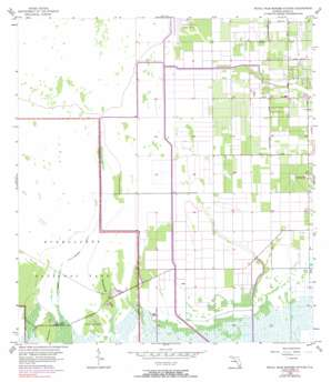 Royal Palm Ranger Station USGS topographic map 25080d5