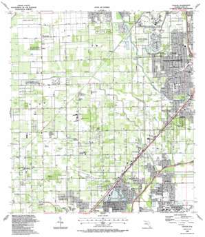 Goulds topo map