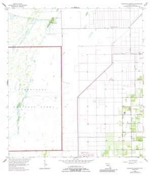 Grossman Hammock USGS topographic map 25080e5