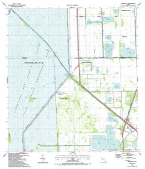 Pennsuco USGS topographic map 25080h4