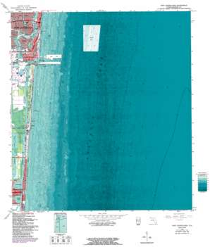 Port Everglades USGS topographic map 26080a1