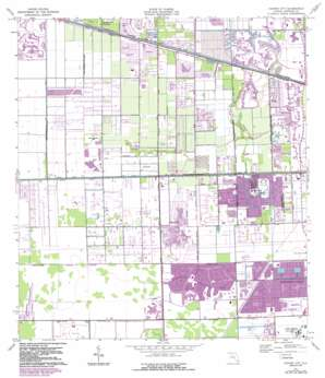 Cooper City USGS topographic map 26080a3