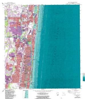 Boca Raton USGS topographic map 26080c1