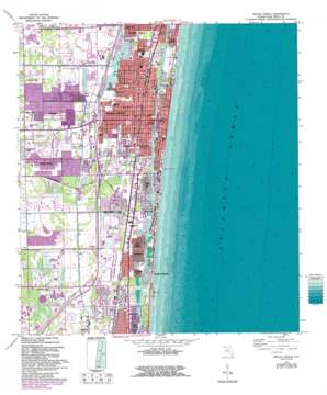 Delray Beach USGS topographic map 26080d1