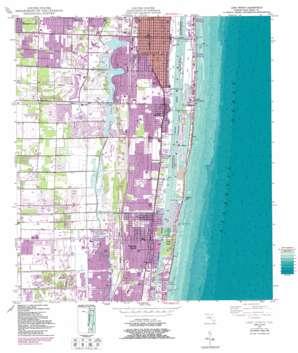 Lake Worth USGS topographic map 26080e1