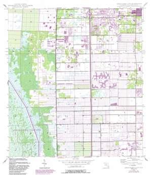 Greenacres City USGS topographic map 26080e2