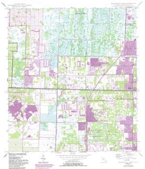 Palm Beach Farms USGS topographic map 26080f2